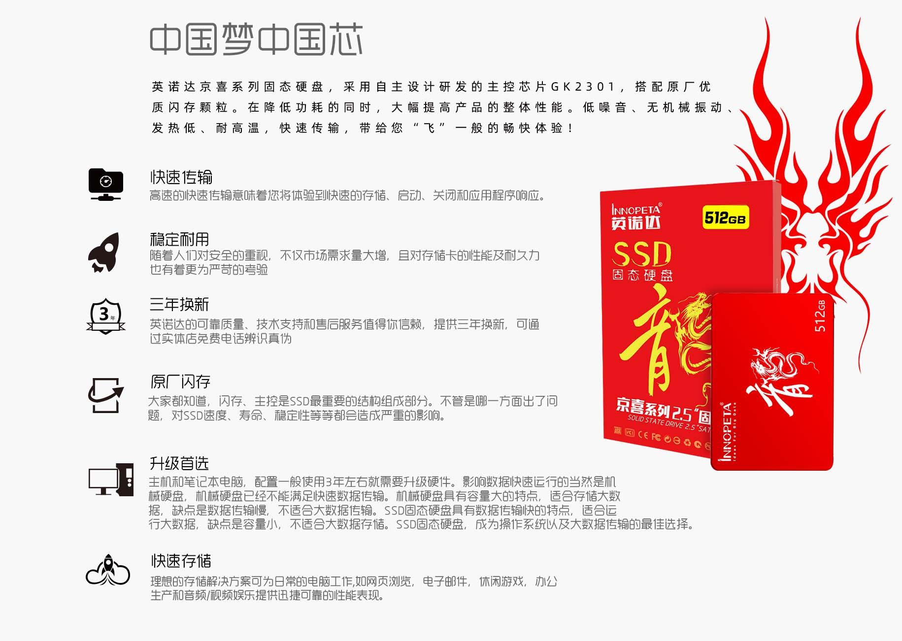 京喜系列2.5寸固态硬盘