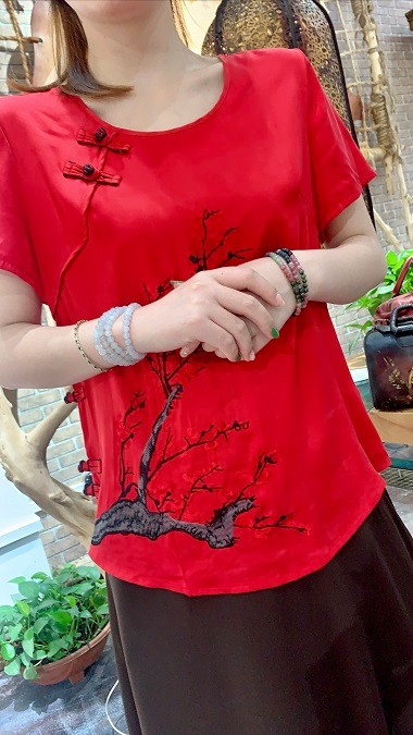 中时海创品牌女装折扣【香云纱】20夏装系列品牌上新