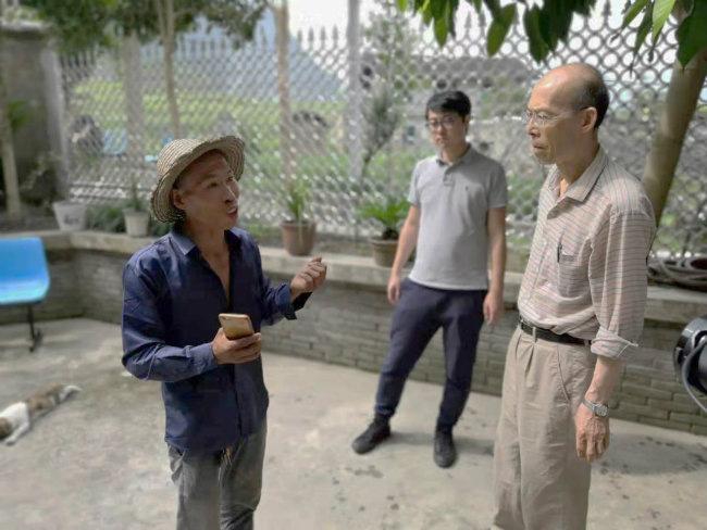 """专家学者调研农信集团在奉节""""三社""""融合工作开展情况"""
