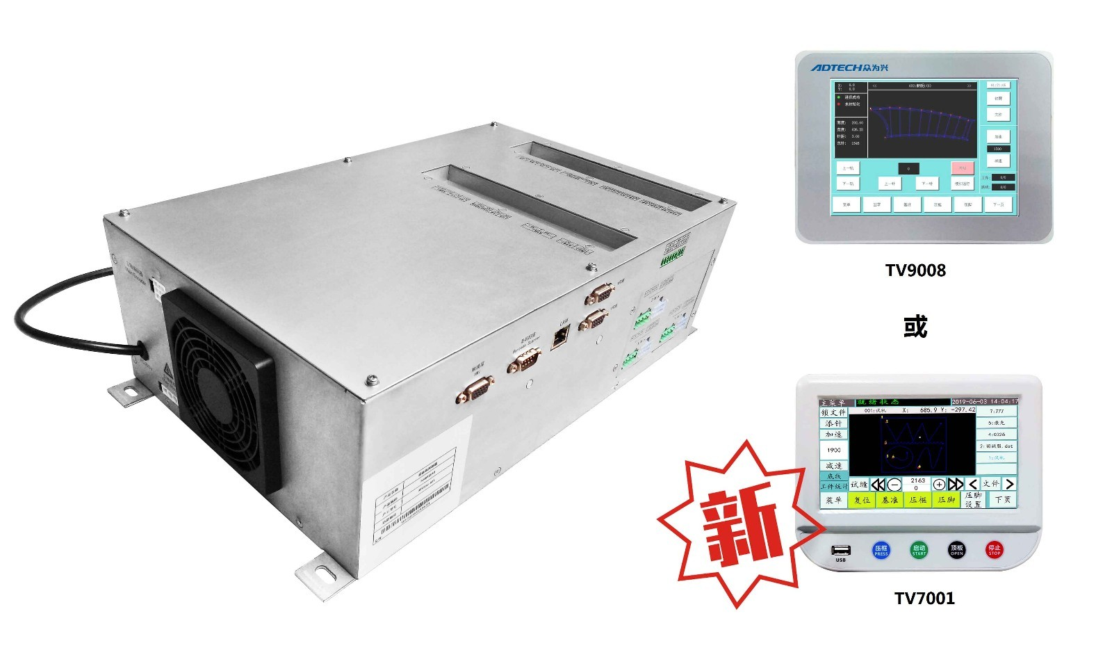 MCT520 Full automatic template control system