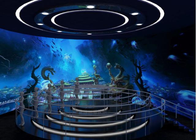 重慶武隆360度動感環幕立體影院《飛天之吻》
