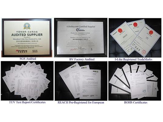 我们的产品拥有一系列证书,如TUV、ROHS