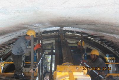 吉林引松供水工程總干線三標段TBM脫困處理