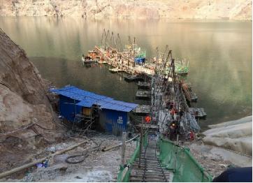 云南祿勸甲巖水電站大壩左右岸新增帷幕灌漿工程