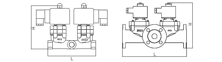 OSA86系列二位三通电磁阀(含防爆型)