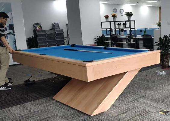 购买高质量台球桌可以保证长久使用