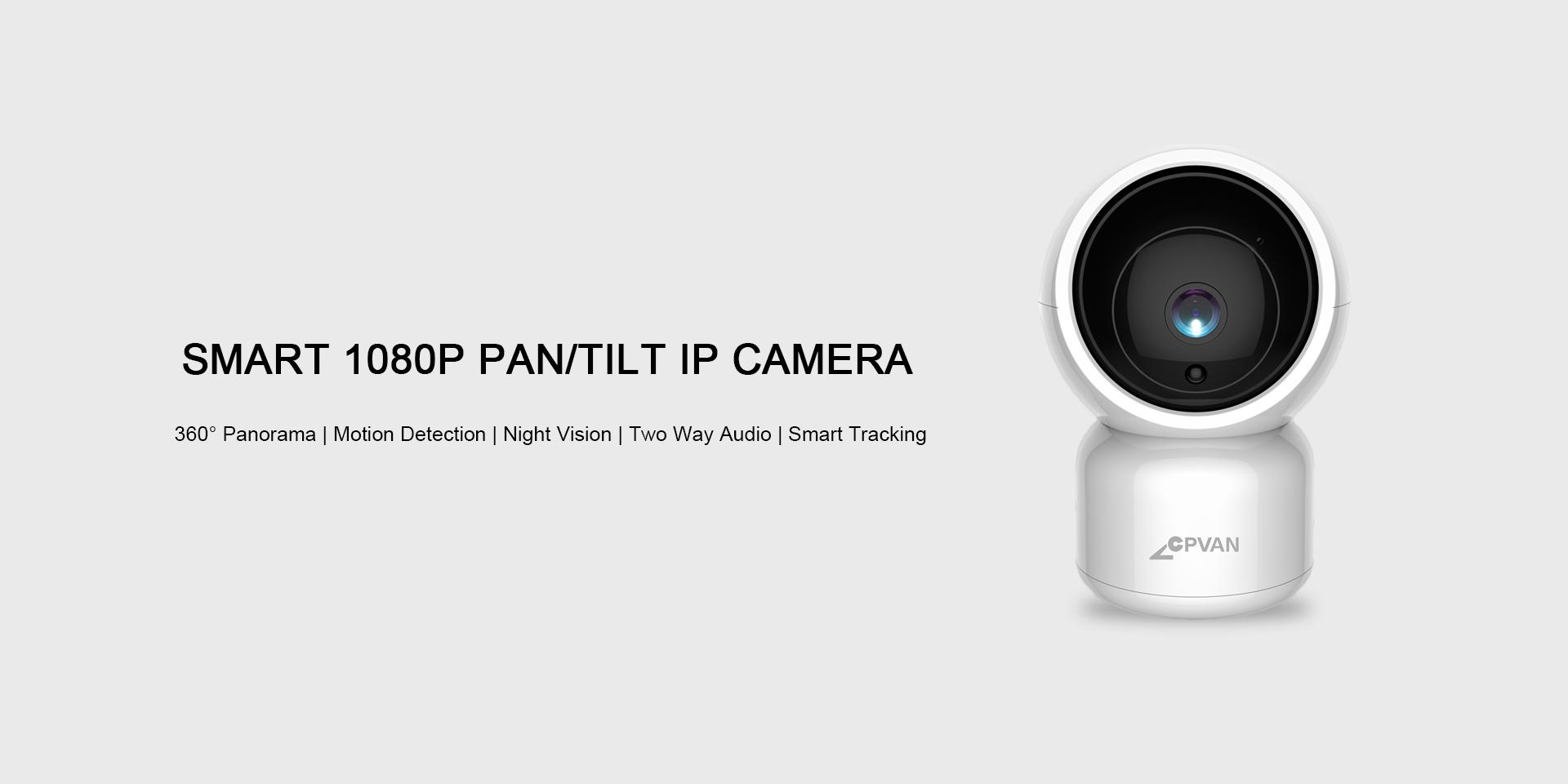 1080P Pan-tilt Smart Camera