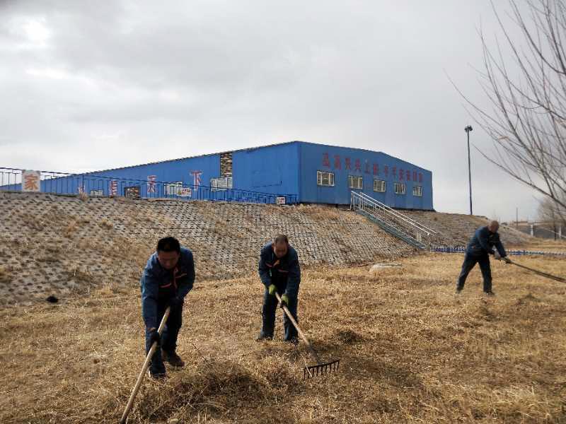 奥福集团提升厂区环境