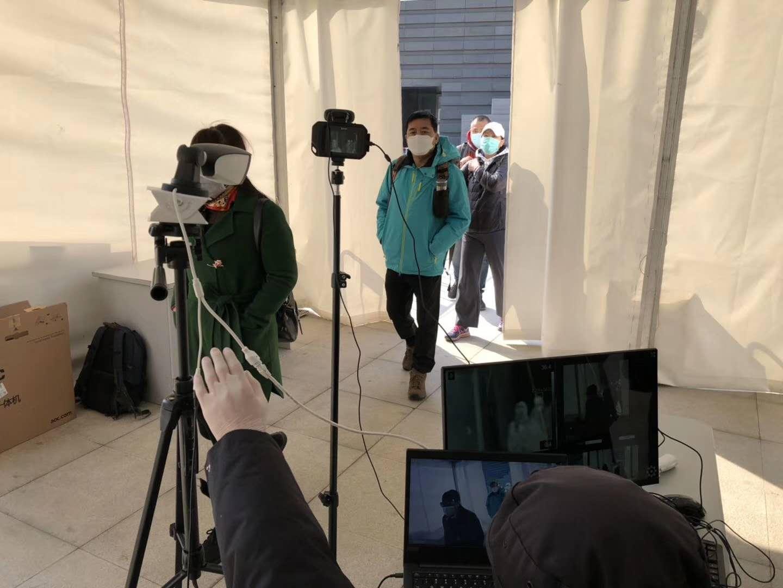 紅外熱成像人體測溫攝像機的作用和優勢,提升工作效率