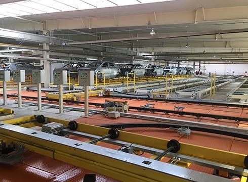 吉利汽车山西新能源汽车工业有限公司总装自动化生产线