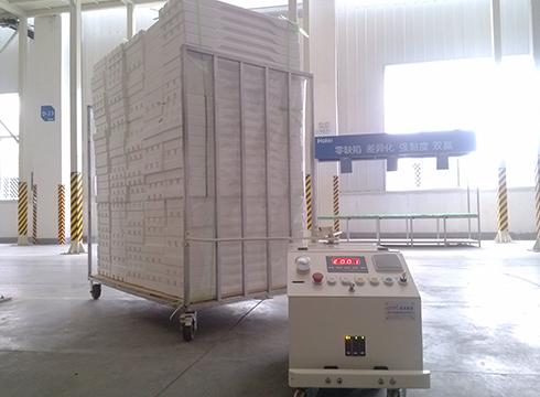 郑州海尔空调AGV物流配送系统