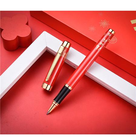 法国梦特娇中国风系列_签字笔套装定制LOGO