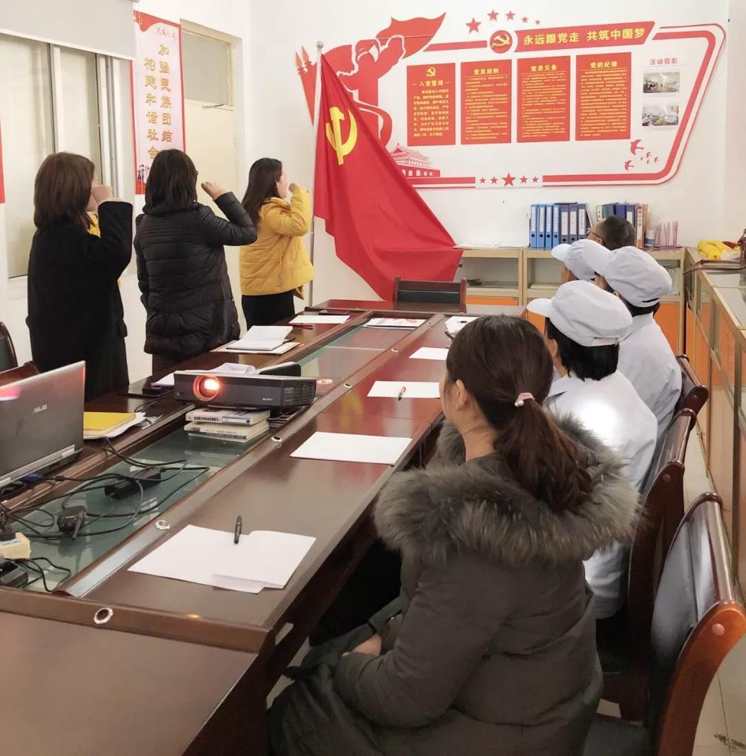 郑州哈尔优发娱乐电脑版食品有限公司党支部,首届选举党员、职工代表推荐大会