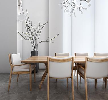 巴西 Etel现代桌椅组合3d模型