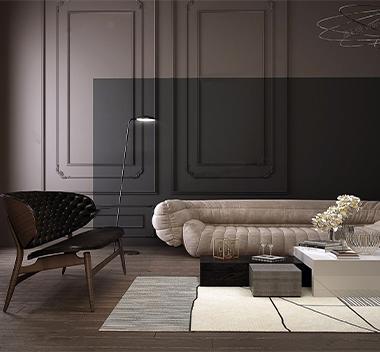 意大利Baxter现代沙发组合3d模型