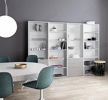 丹麦 Boconcept现代书柜3d模型
