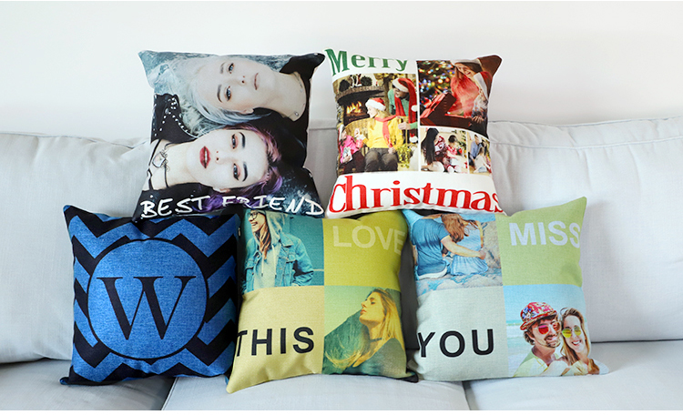 Sublimation Personalized pillow covers