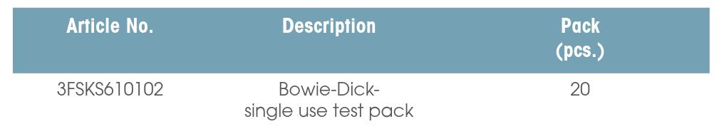 单次使用的B-D测试包