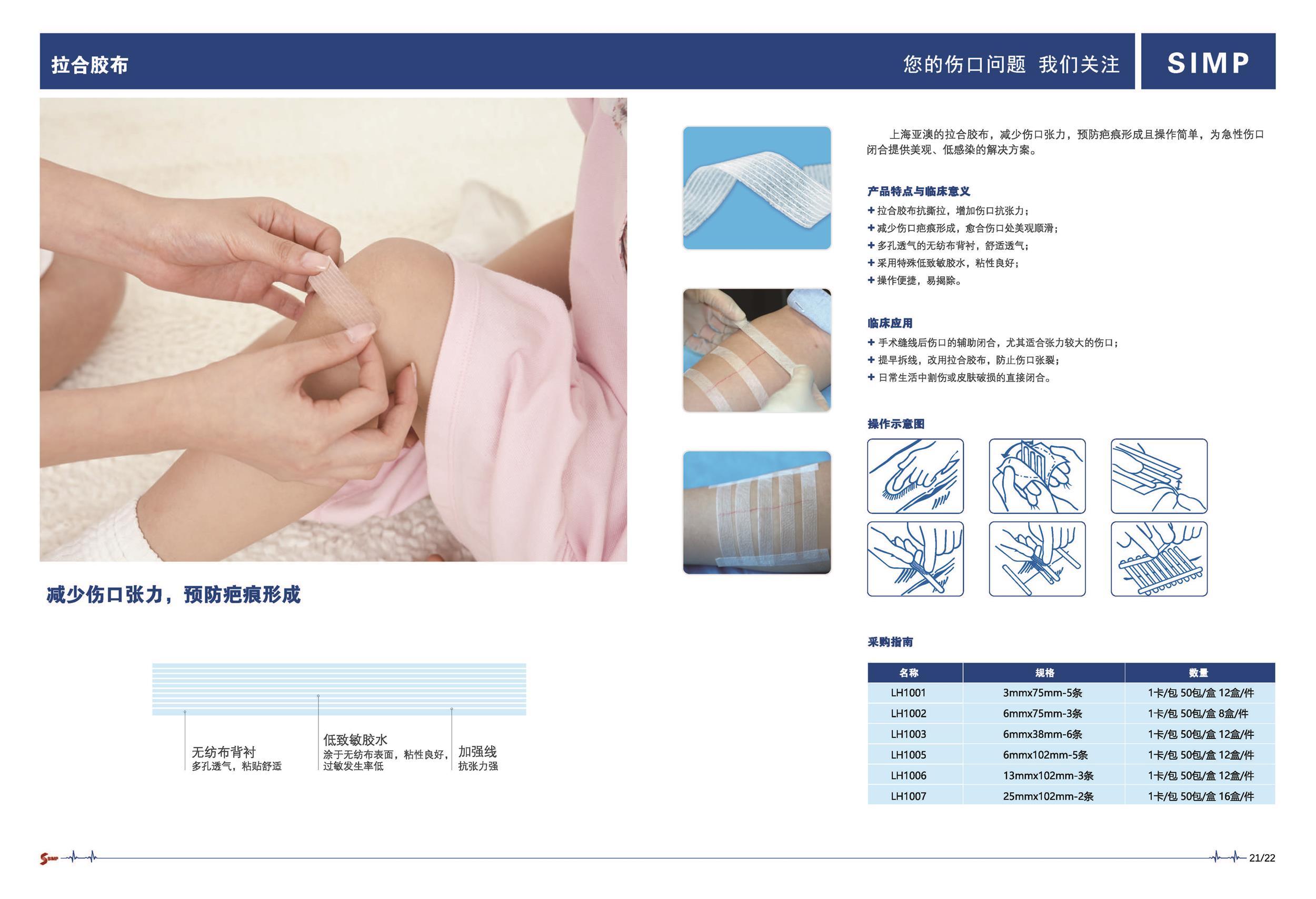 上海亚澳含碘手术薄膜,拉合胶布市场推广活动
