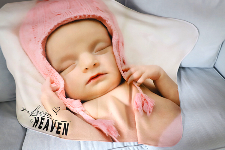 sublimation personalized baby towels