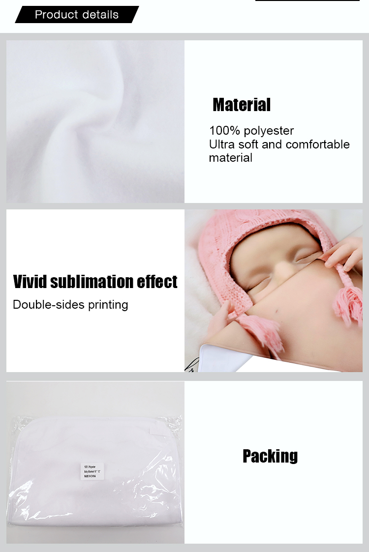 sublimation customized baby towels