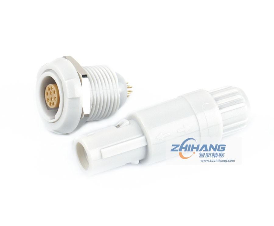 1P纯白色PAG/PKG连接器