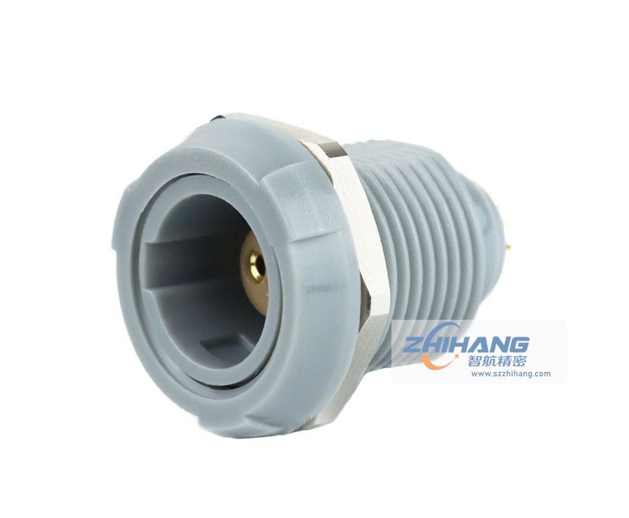1P双螺母插座标准医疗插头插座