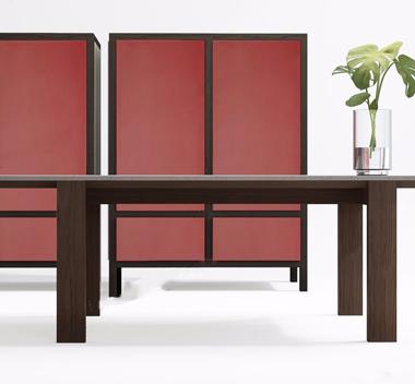 英国Banlan新中式桌子衣柜组合3d模型