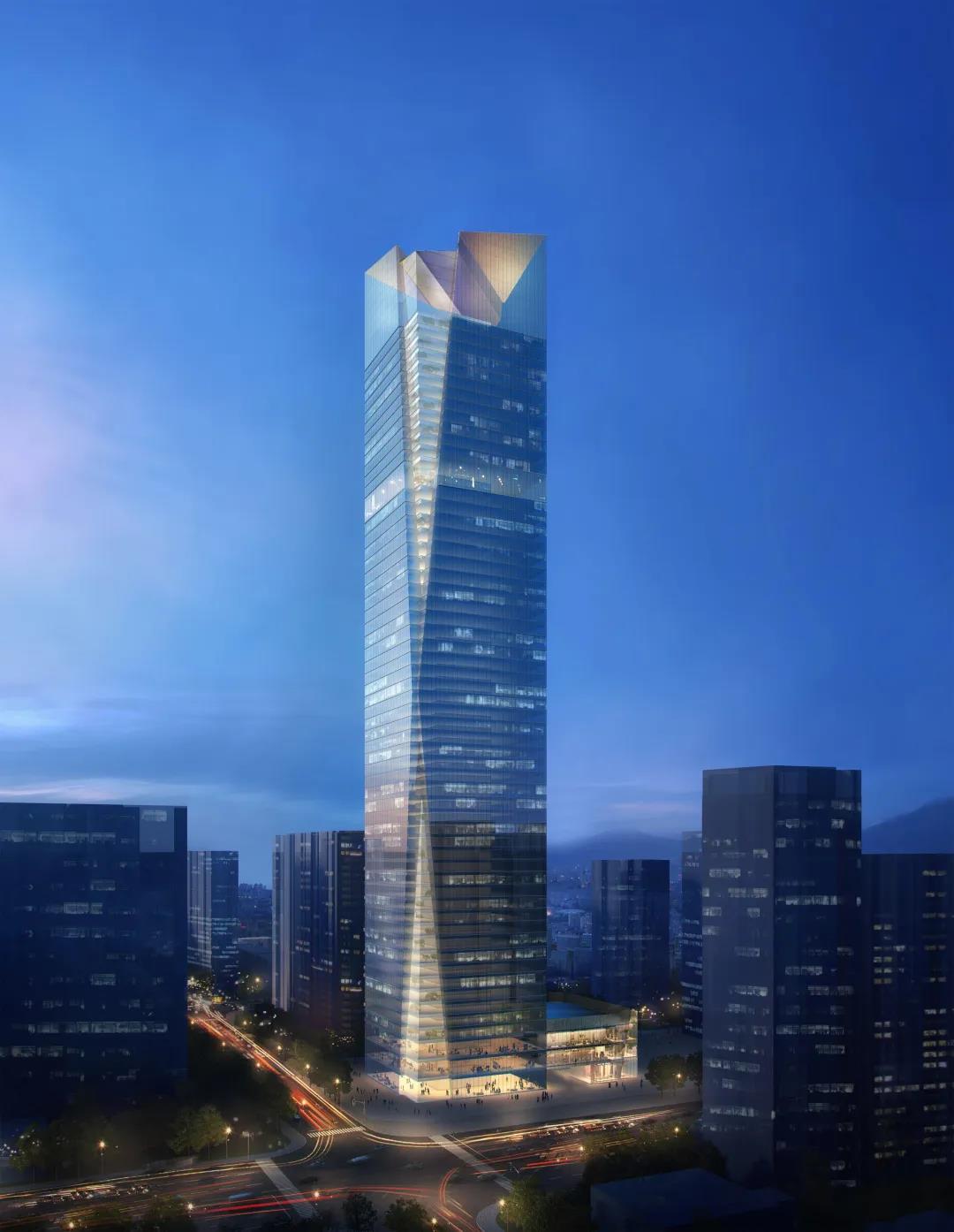 迅达电梯+荣民金融中心: 西安北城第一高