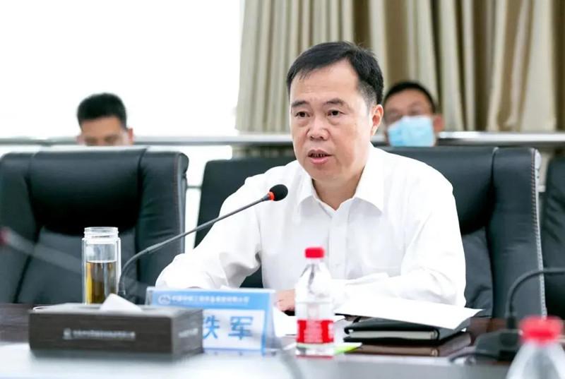 中国中铁、中铁工业党委调整中铁装备领导班子