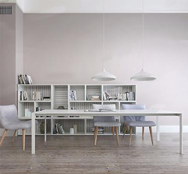 法国Cinna现代桌椅组合3d模型