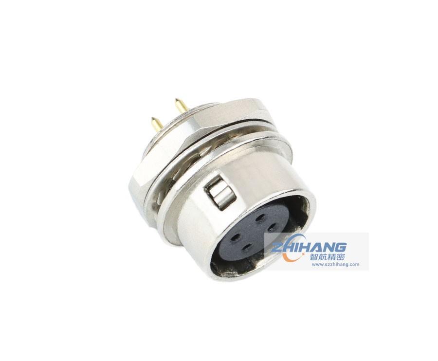 JHR系列面板安装插座(座孔板接接针)