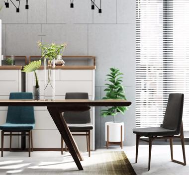 中国Maxmarko木美餐桌椅组合3d模型