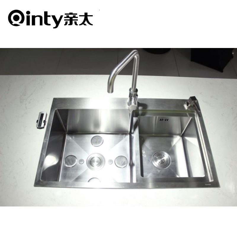 QT-1178 家用一体式水槽超声波洗菜机