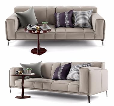 意大利Poliform多人沙发3d模型