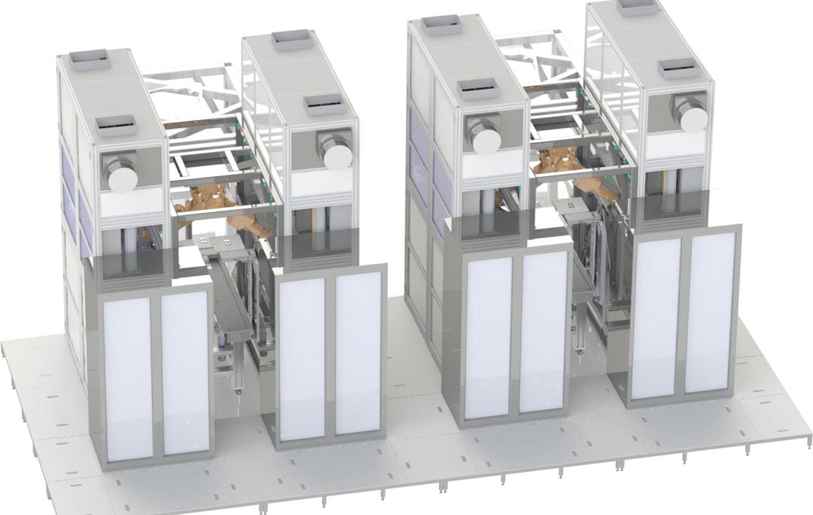 拉普拉斯等离子体增强化学气相沉积水平镀膜系统 LVG400/2