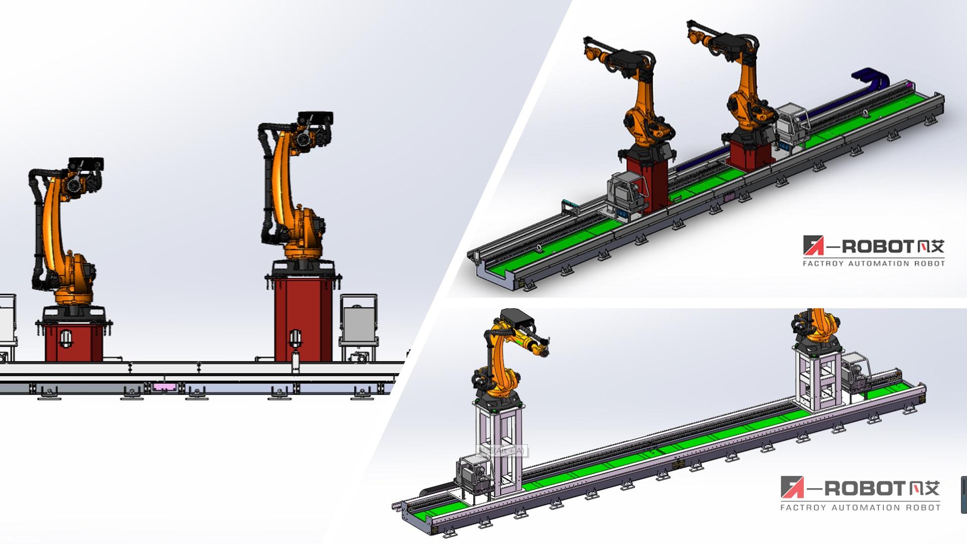 机器人第七轴地轨——应用于风力发电行业