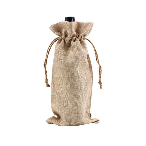 Burlap Drawstring Bag(17*34CM)