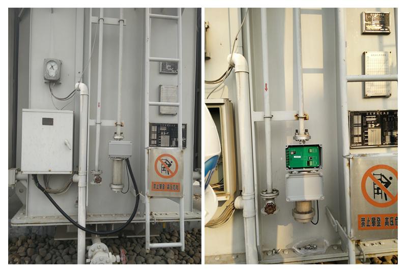我公司研发的免维护吸湿器已在现场投运