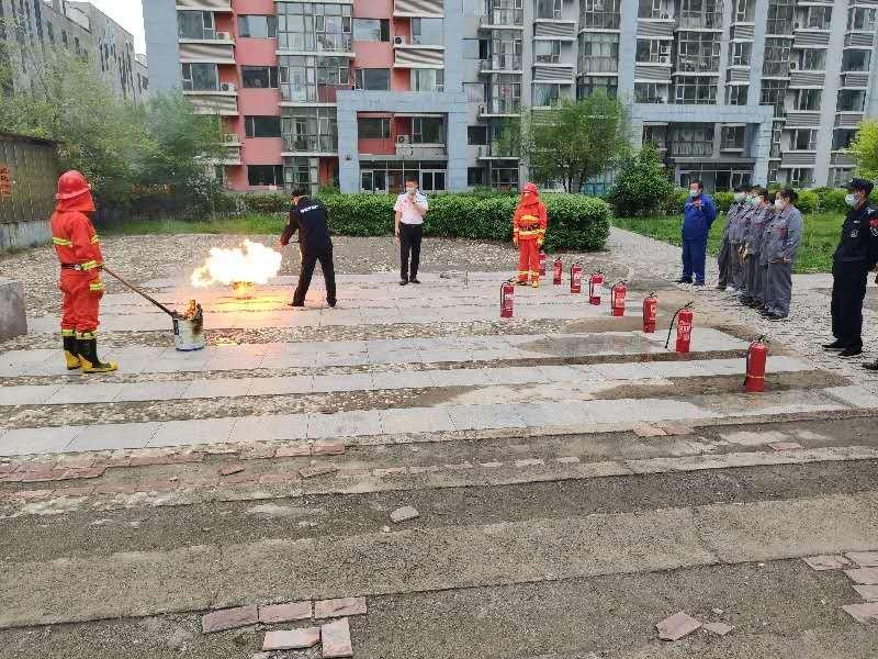 哈尔滨分中心为万达公寓物业开展雷电竞官方网站培训及演练活动