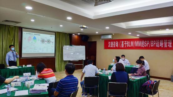 2020年5月29-30日 汉捷咨询《基于BLM/MM的SP/BP战略管理》公开课在深圳成功举办!