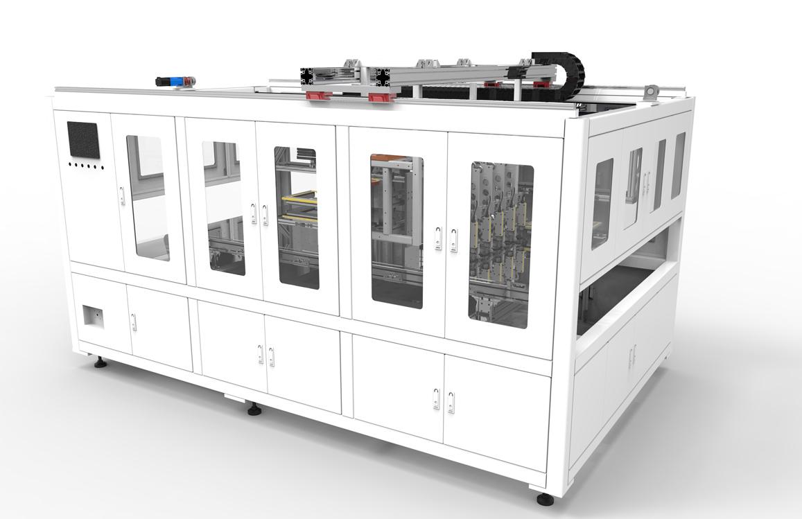 拉普拉斯电池间隙贴膜机 LTM200/00