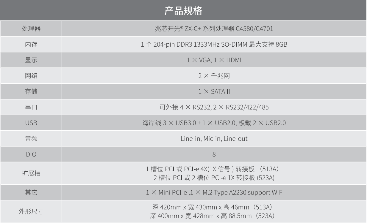 海川智能 ZCS-513A/523A 标准 19