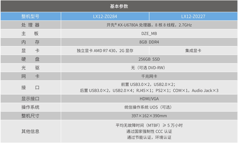 海尔LX12-Z0284/Z0277台式机