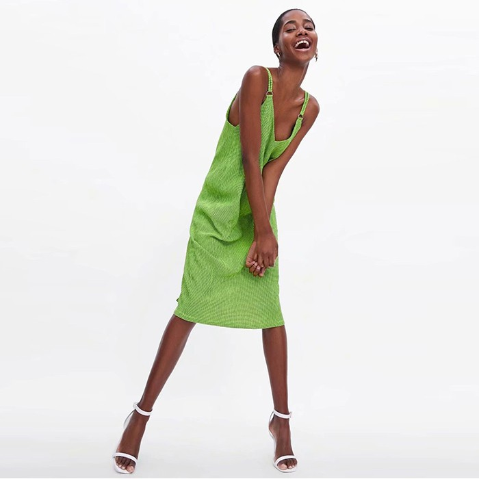 Summer New Design Knit Sexy Backless Halter Dress V-neck Casual Dress