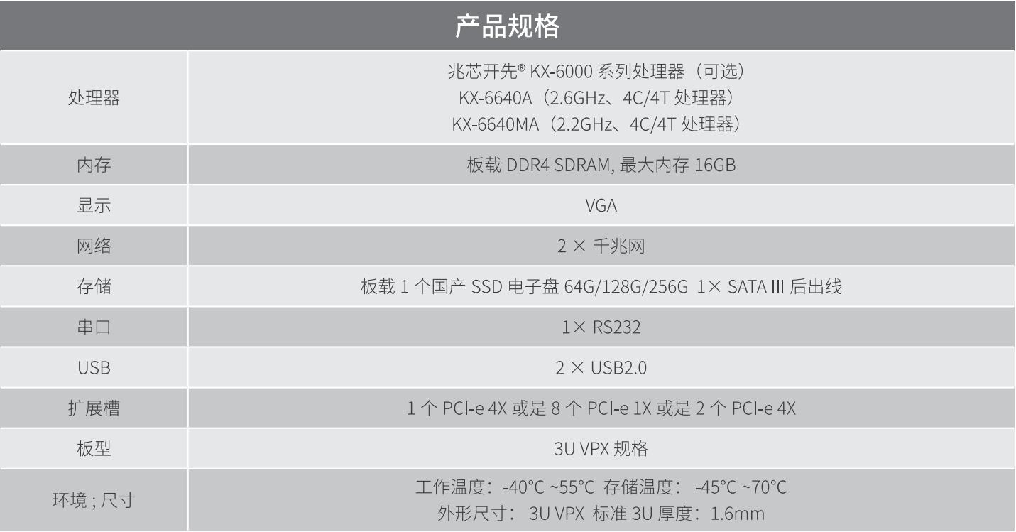 慧鼎创 VPX3-VZ31 3U VPX 刀片
