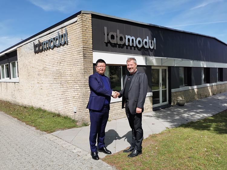 赛诺与丹麦实验室装备商Labmodul签订中国市场合作协议