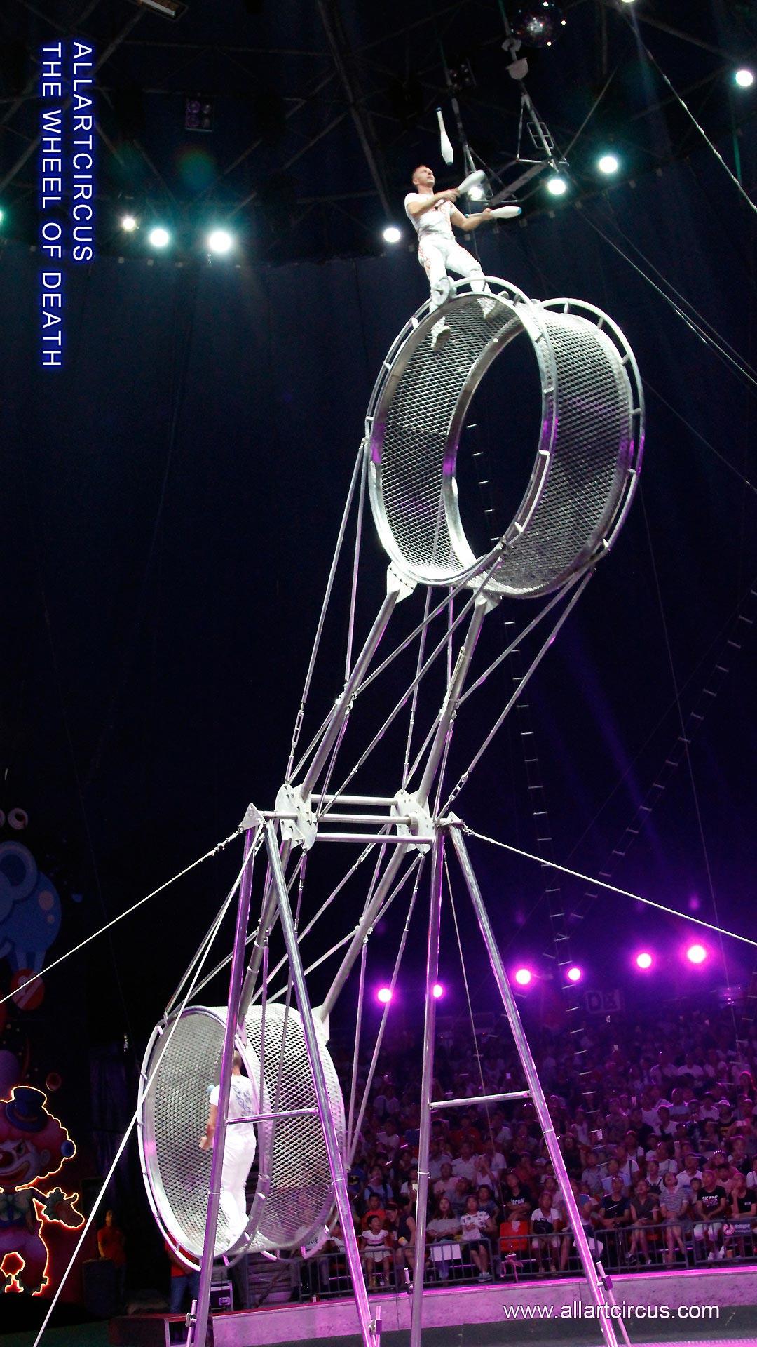最恐怖的表演——死亡飞轮