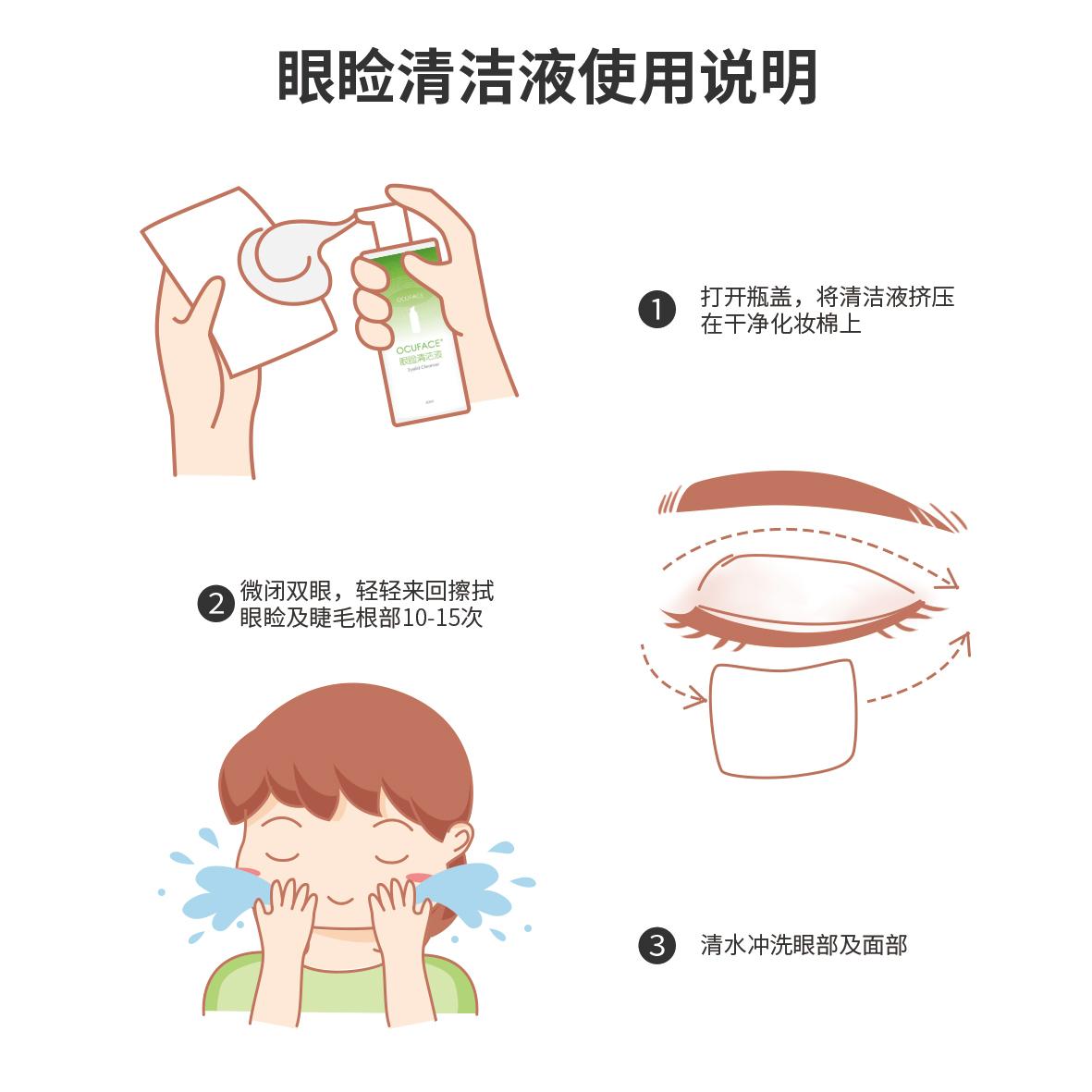 眼睑清洁液