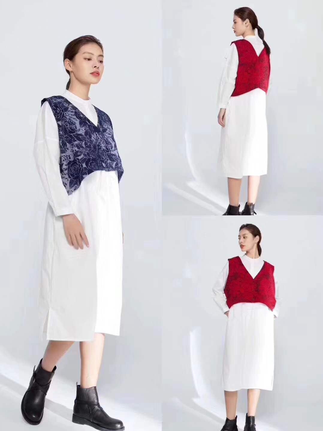 中时海创品牌女装折扣【紫布语】20秋装系列品牌上新